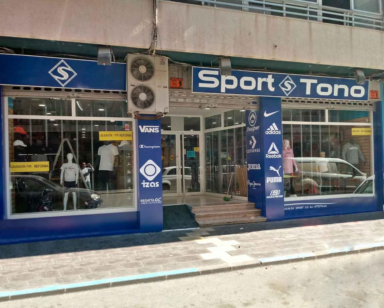 Fachada Sport Tono Callosa de Segura